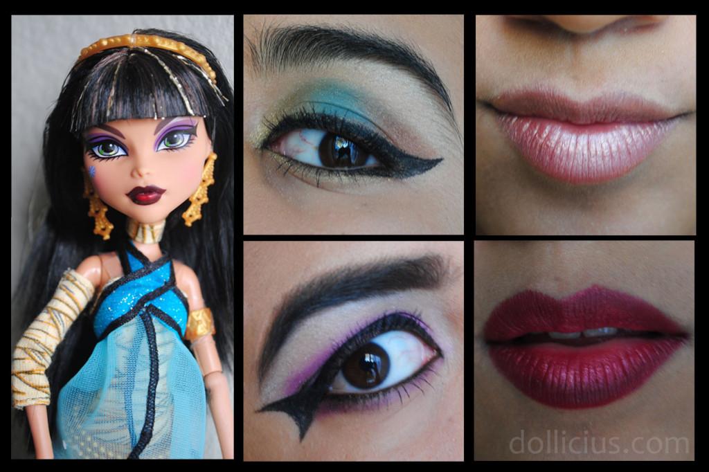 Collage Cleo de Nile Makeup