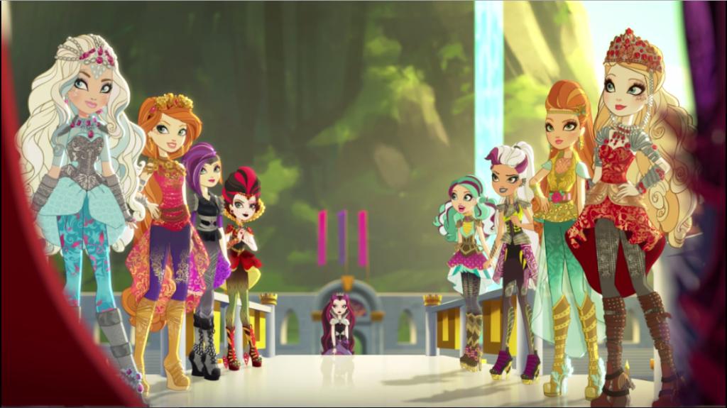 Los equipos están listos, Raven sigue neutral sin querer participar y aunque no lo crean, Apple está en el equipo de la Reina Malvada, el equipo de Blancanieves está comandado por Darling... por el momento